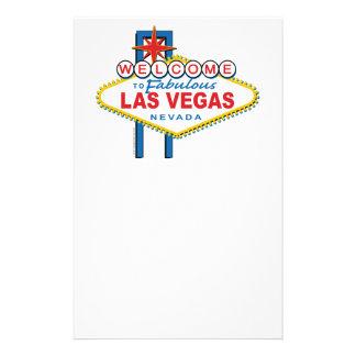 Recepción a Las Vegas fabuloso Papelería