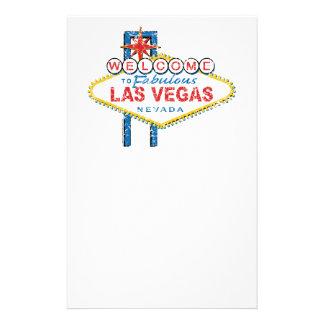Recepción a Las Vegas Papelería De Diseño