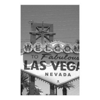 Recepción a Las Vegas Papeleria De Diseño