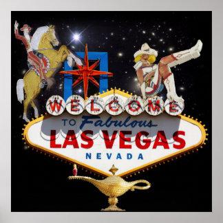 Recepción a Las Vegas Póster