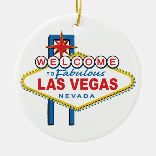 Recepción-a-Las-Vegas retro Adorno