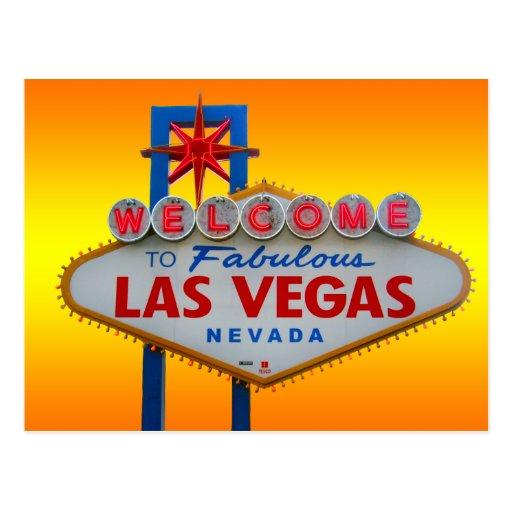 Recepción a Las Vegas Tarjeta Postal