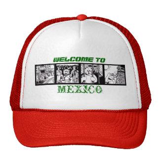 Recepción a México Gorros