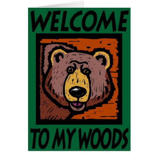 Recepción a mis maderas felicitación