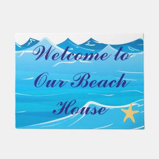 Recepción a nuestra casa de playa