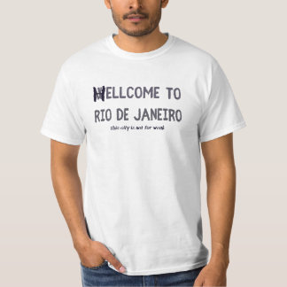 Recepción a Río de Janeiro Camisetas