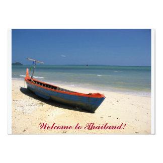 ¡Recepción a Tailandia! Invitación 12,7 X 17,8 Cm