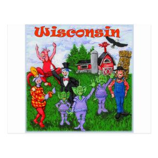 Recepción a Wisconsin Postal
