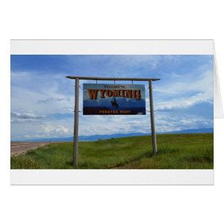 Recepción a Wyoming