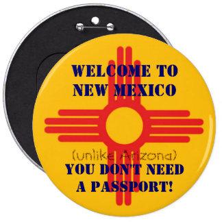 Recepción al botón de New México