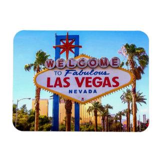 Recepción al imán de la muestra de Las Vegas
