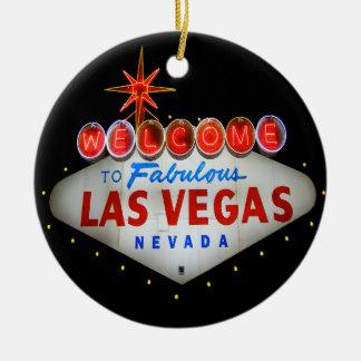 Recepción al ornamento fabuloso de Las Vegas
