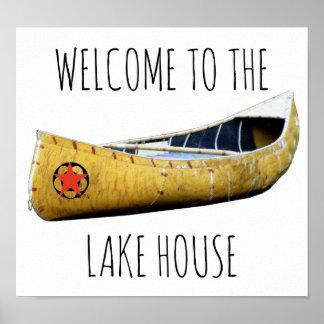 Recepción al poster de la canoa de la casa del póster