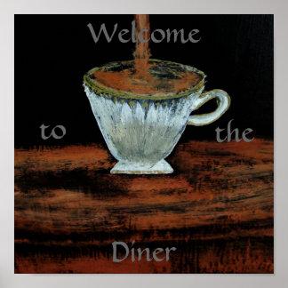 Recepción al poster del Teatime del comensal