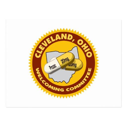 Recepción de Cleveland Tarjetas Postales