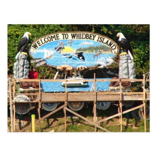 Recepción de la isla de Whidbey Postal