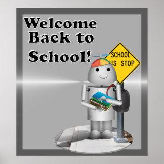 ¡Recepción de nuevo a escuela! Impresiones