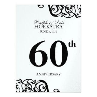 Recepción del fiesta de la pieza central de la invitación 16,5 x 22,2 cm