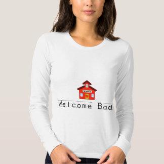 Recepción detrás (escuela) camiseta