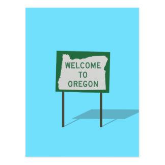 """""""Recepción muestra de Oregon"""" Postal"""