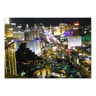Recepción RSVP de Las Vegas Invitación 8,9 X 12,7 Cm