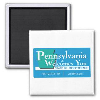 Recepción señal de tráfico de Pennsylvania - los Imanes
