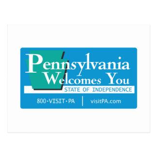 Recepción señal de tráfico de Pennsylvania - los Postal