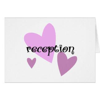 Recepción Felicitaciones