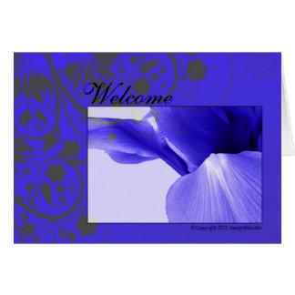 recepción tarjeta de felicitación
