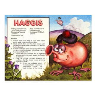 Receta de Haggis Postal