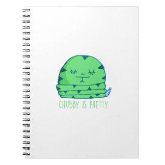 Rechoncho es bonito cuaderno