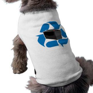 Reciclaje de la batería ropa de mascota