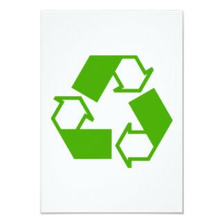 Reciclaje de símbolo comunicados