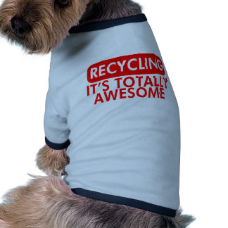 Reciclaje, es impresionante ropa de mascota