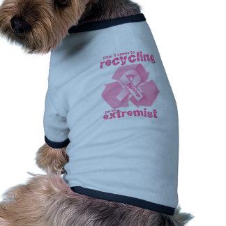 Reciclaje más extremo ropa de perro