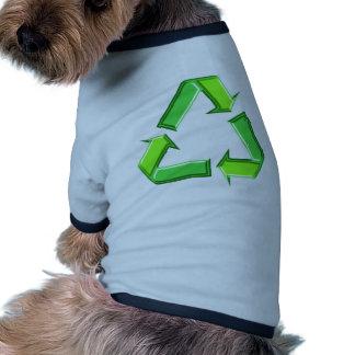 Recicle el diseño de las flechas camisas de mascota