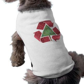 Recicle el X-Lío Camiseta Sin Mangas Para Perro