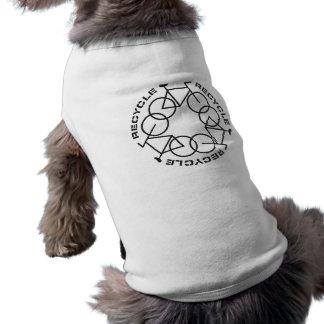 Recicle las camisetas sin mangas proveídas de cost camiseta sin mangas para perro