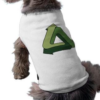 Recicle - perpetuo camiseta sin mangas para perro