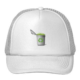 recicle puede con el eco design.png de la hierba gorras de camionero