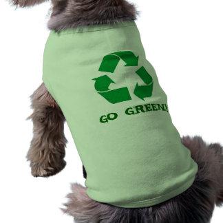 Recicle Camiseta Sin Mangas Para Perro