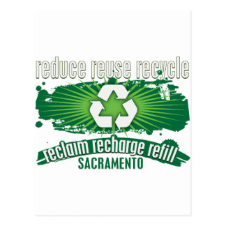 Recicle Sacramento Tarjetas Postales