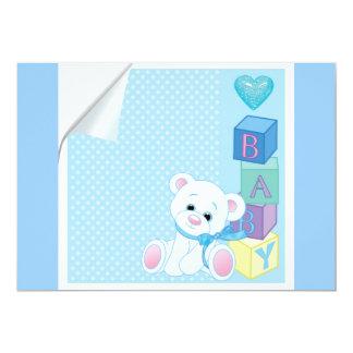 recién nacidos del oso del bebé azul anuncio