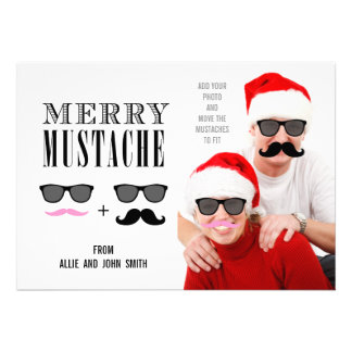 Recienes casados divertidos de la tarjeta el de comunicado