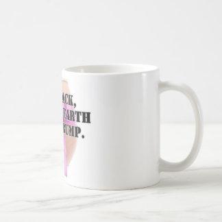 Reclinado, realista con un topetón - productos taza clásica