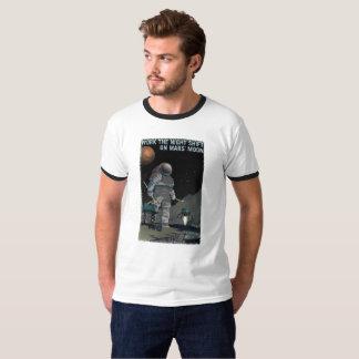 Reclutamiento de Marte - camiseta del turno de