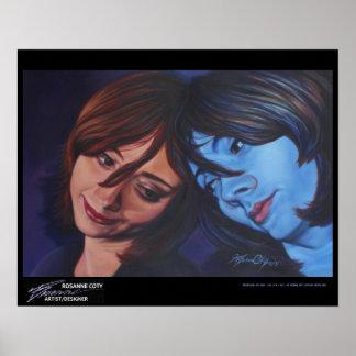 """Reconciliando con uno mismo"" por Rosanne Coty, Póster"