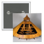 Reconstrucción modelo del diseño de da Vinci Chapa Cuadrada 5 Cm