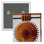 Reconstrucción modelo del diseño de da Vinci Chapa Cuadrada
