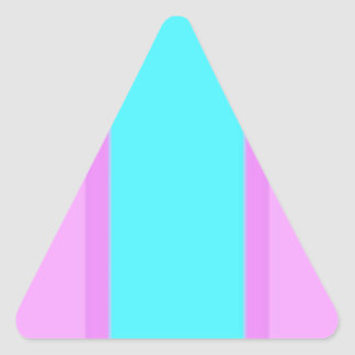 Reconstruido Calcomanías Trianguladas Personalizadas